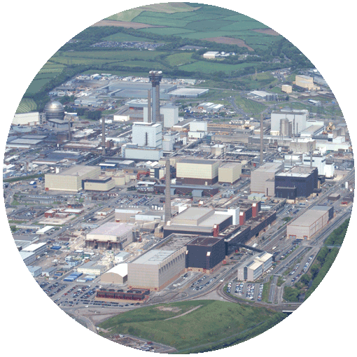 Aerail photo of Sellafield power station